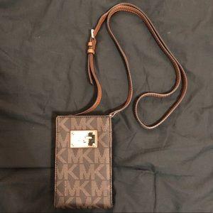 Michael Kors logo crossbody purse